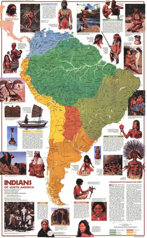 Сборник карт от National Geographic. Часть 6 (17 фото)