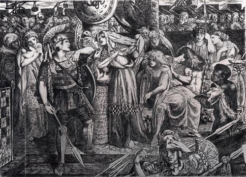 Данте Габриэль Россетти (Dante Gabriel Rossetti) (75 работ)