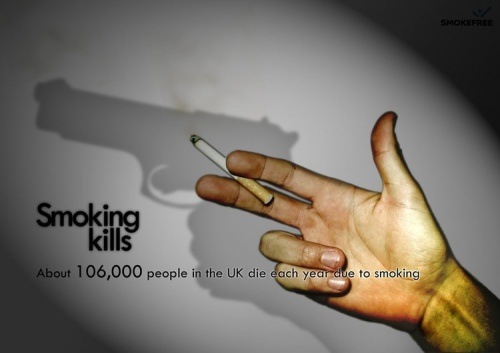 Anti Smoking Posters All Around The World (57 работ)