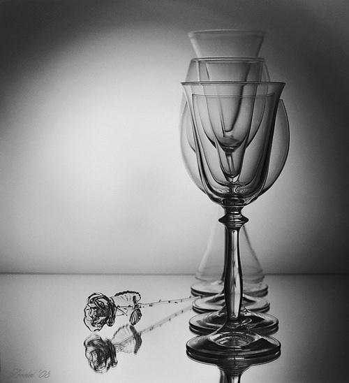 Креативный Натюрморт. Стекло. Фотоработы разных авторов (100 фото)