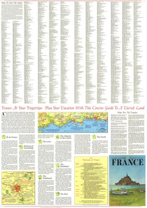 Сборник карт от National Geographic. Часть 2 (21 фото)