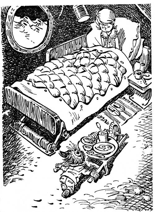 """Иллюстрации Е.Мигунова - """"Путешествие Алисы"""" Кир Булычев  (18 работ)"""