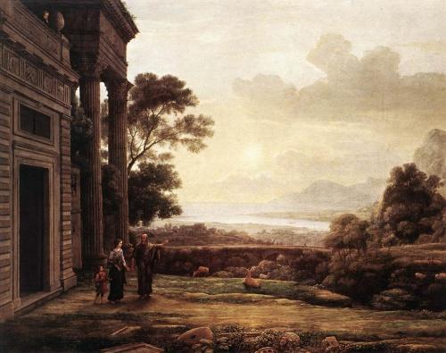 Клод Лоррен (Claude Gellee or Le Lorrain)(1600-1682) (57 работ)