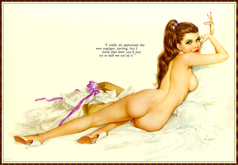 Nude pin up girls