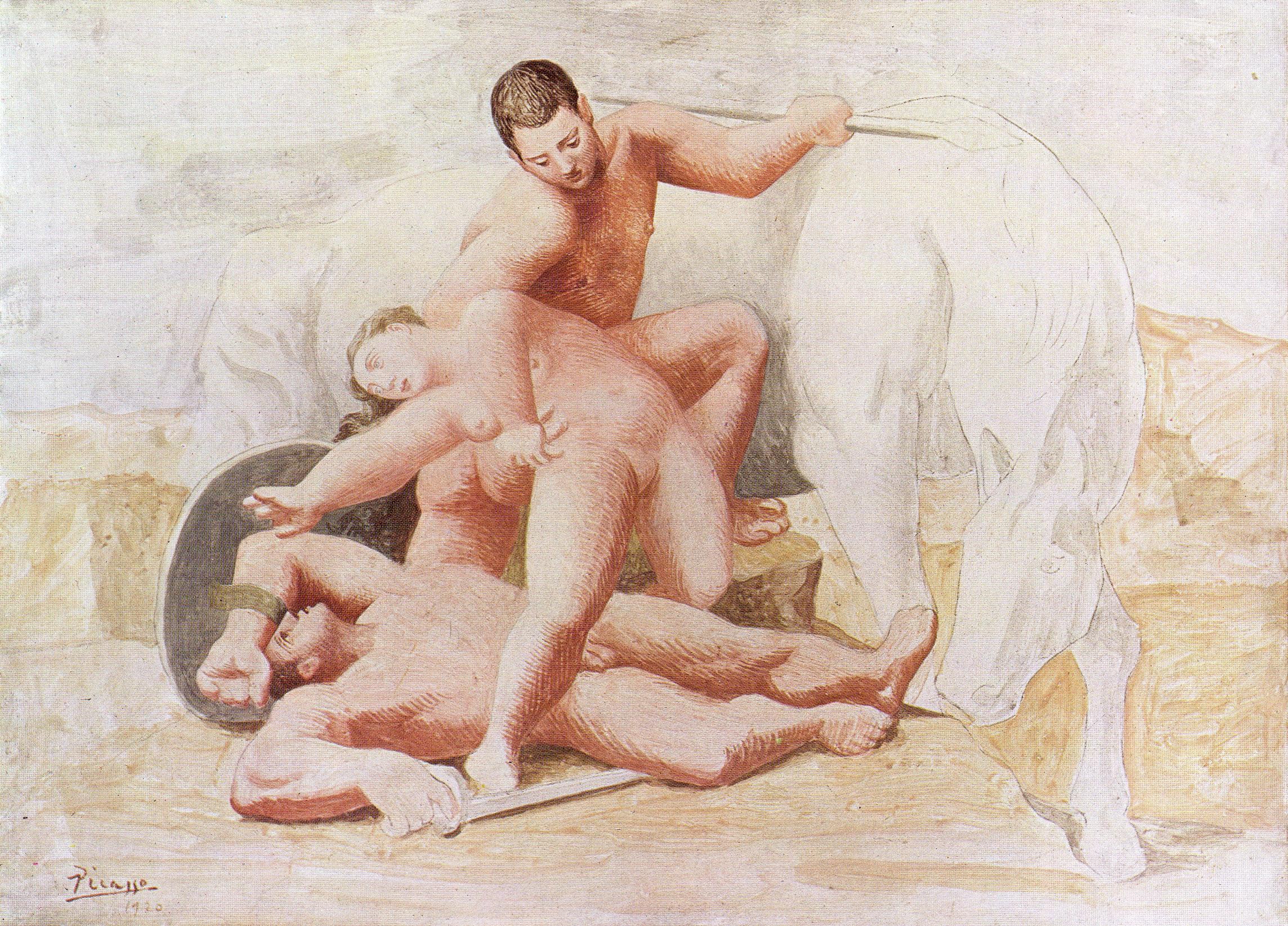 Сексуальные картины художника пикассо