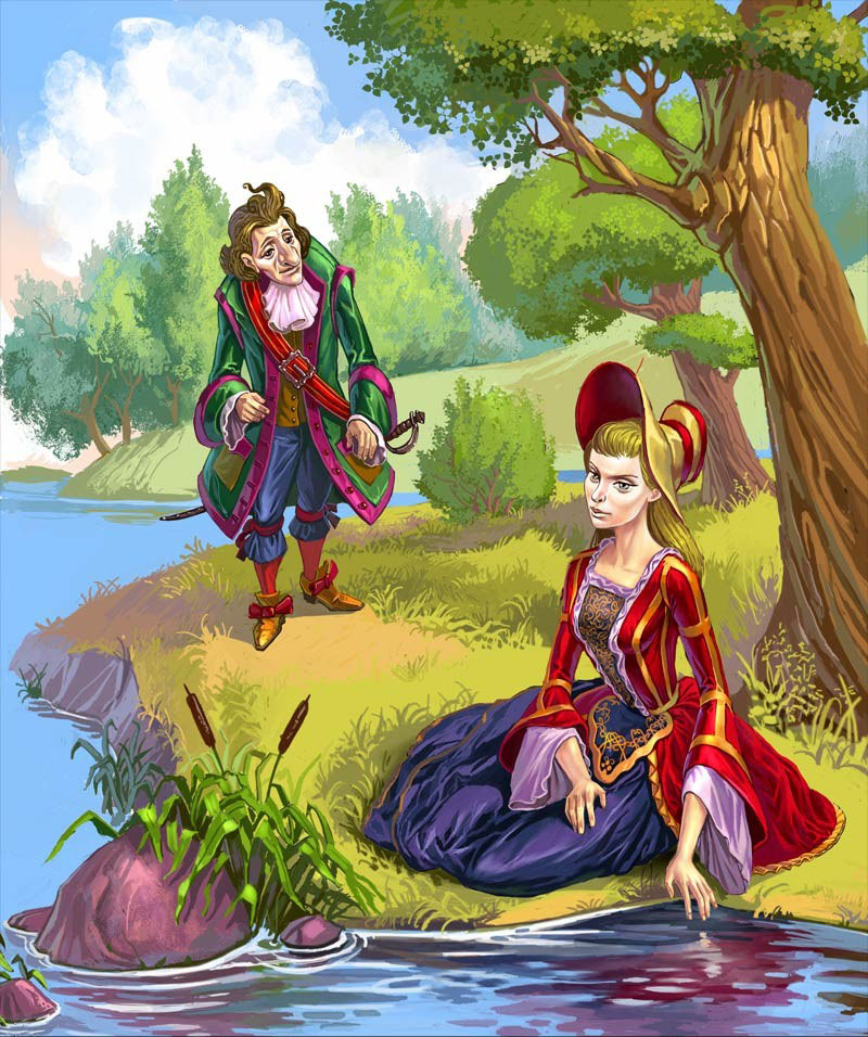 Рисунки к сказке рикки с хохолком рисунки