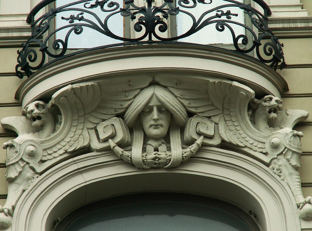 Балкон в стиле модерн. - остекление лоджий - каталог статей .