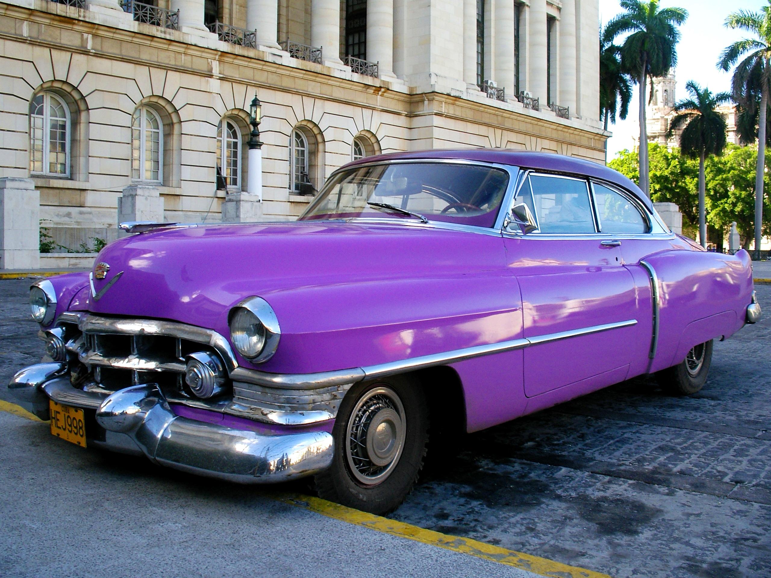 кубинские автомобили фото движущаяся модель