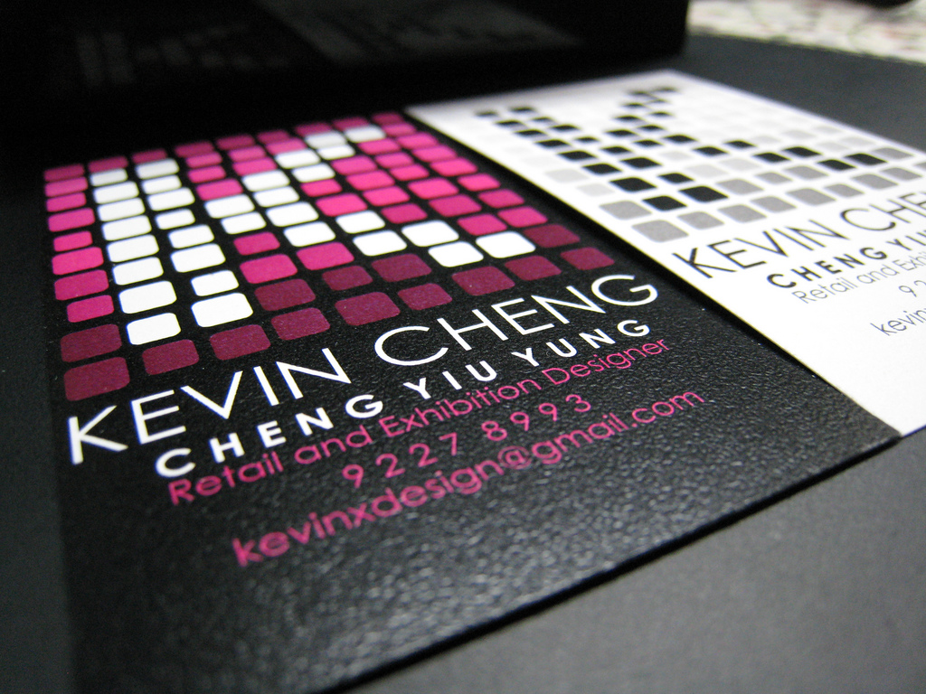 Дизайн визиток своими руками фото