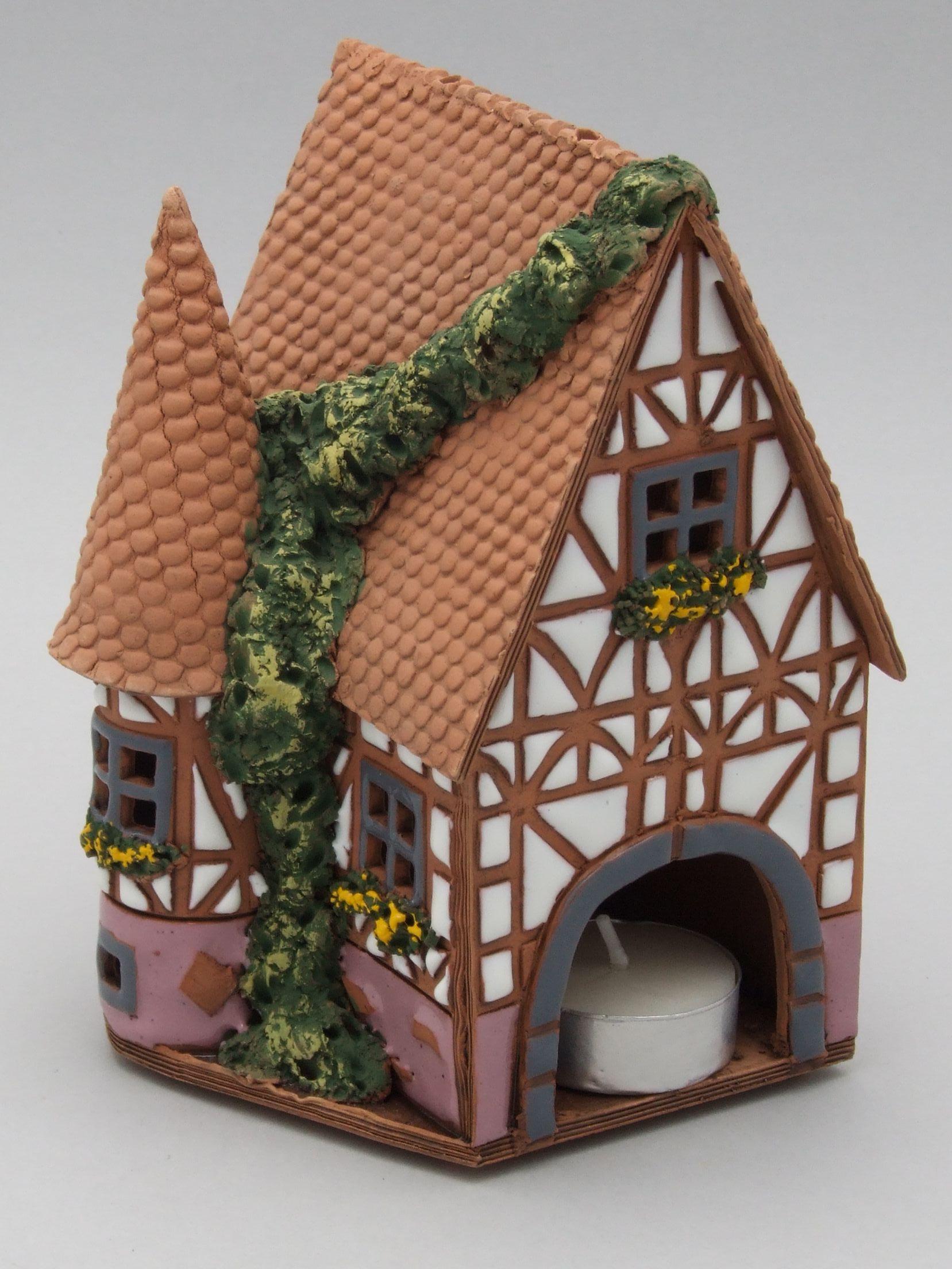 Сказочный домик из глины своими руками
