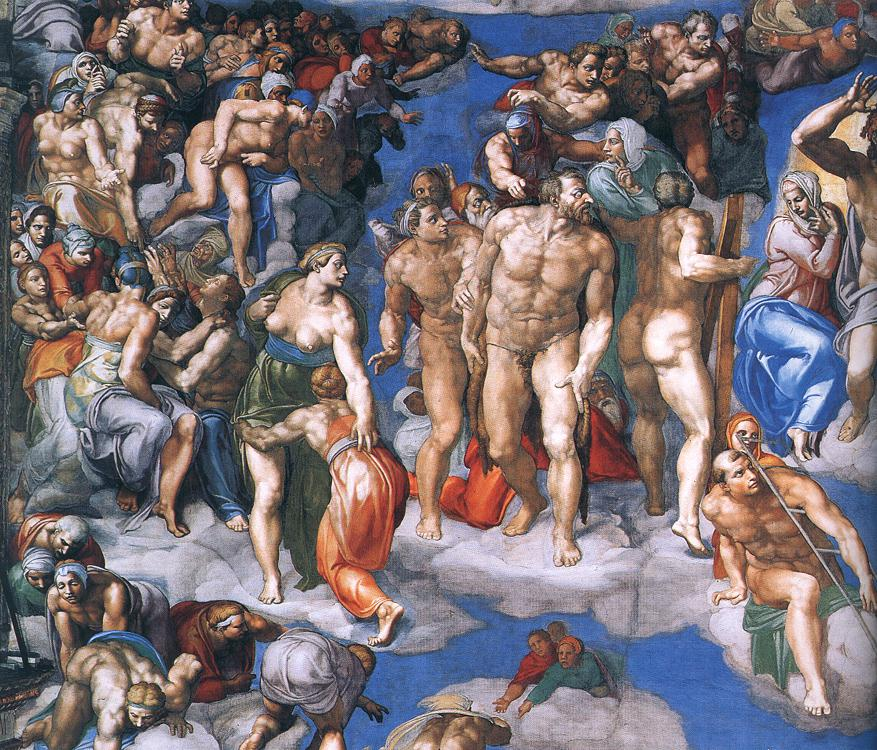 the last judgment and the life of the painter michelangelo buonarroti Michelangelo di lodovico buonarroti simoni (1475-1564), known simply as michelangelo, was an italian painter, sculptor, and architect of the high renaissance period much of the information we know about the life of michelangelo buonarroti comes from his biographers, giorgio vasari (1511-1574) and ascanio condivi (1525-1574.