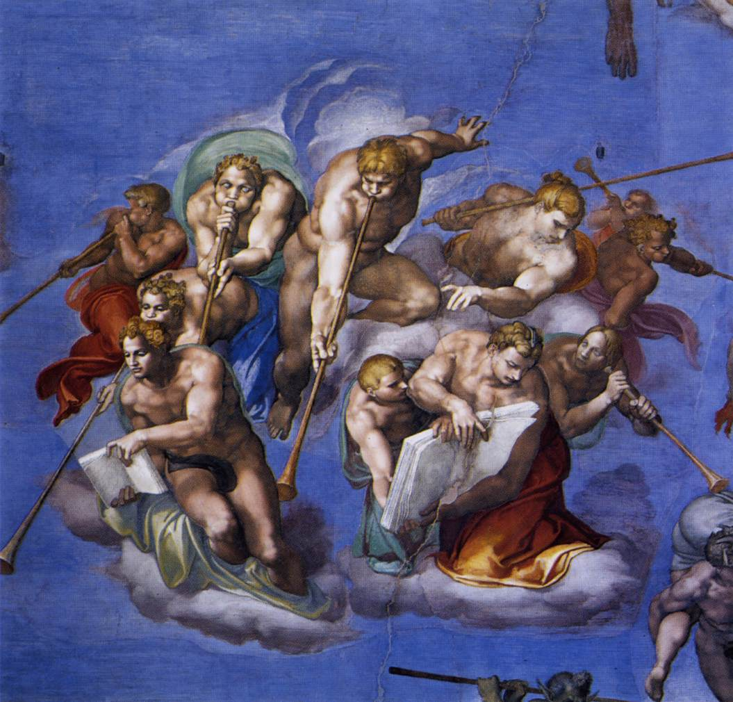 a brief history of michelangelo and his painting in the sistine chapel from 1508 to 1541