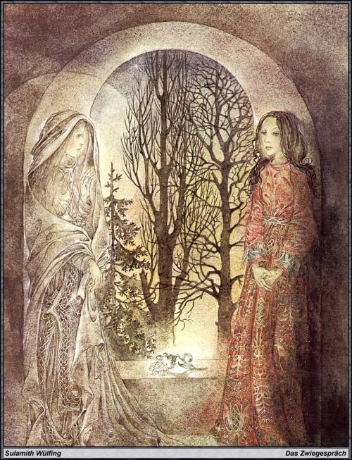 Живопись Суламифь Вулфинг (Sulamith Wulfing) (31 работ)