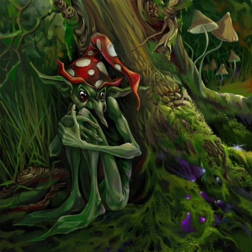Сказочные существа Анны Игнатьевой (9 работ)