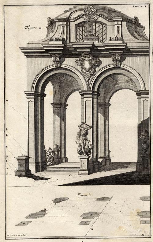 Johann Jacob Schuebler - архитектурная графика (28 фото)