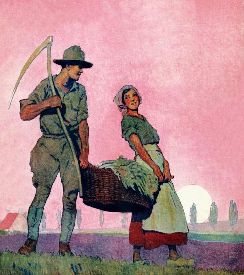 Американские плакаты начала 20 века. Часть 2 (50 фото) (2 часть)