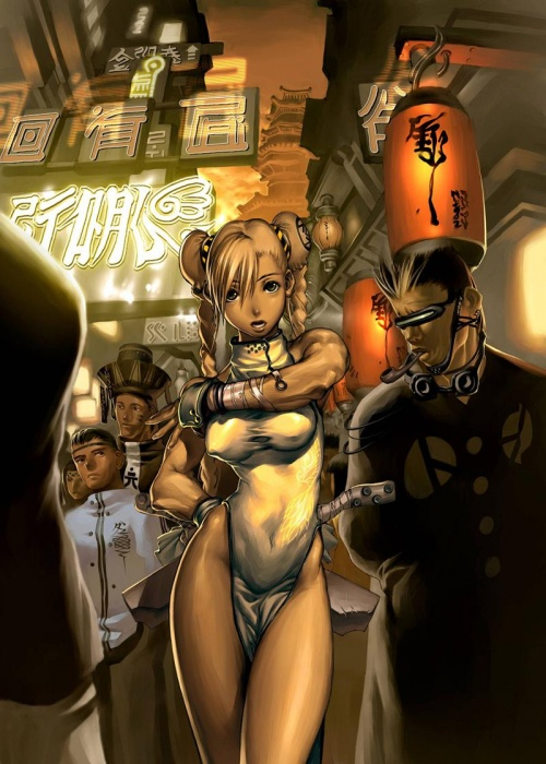 Арт в стиле Аниме, Манга (38 работ)