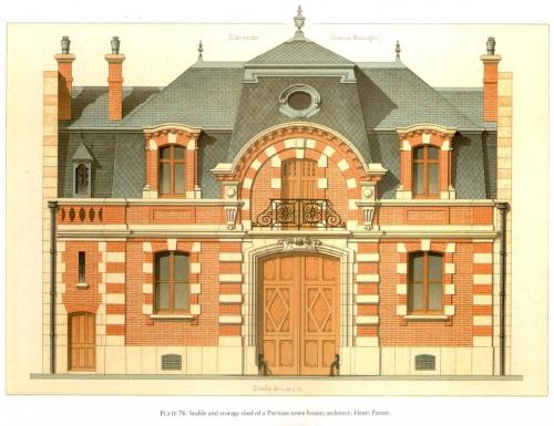Pierre Chabat 1870 - 1880 Фр архитектор (111 работ)