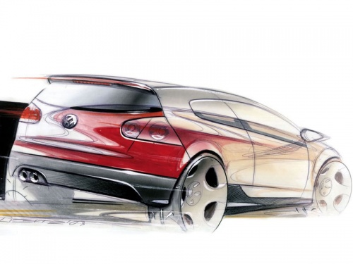Автомобильный дизайн. Рисунки