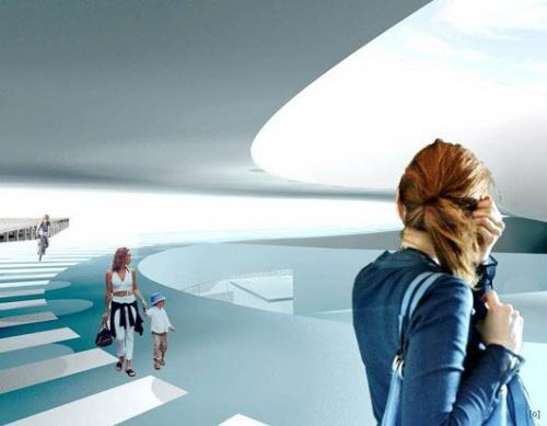 Современная необычная архитектура Bjarke Ingels Group (21 фото)