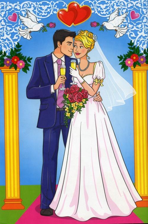 Свадебный набор: грамоты, дипломы, наказы, свидетельства  (26 фото)