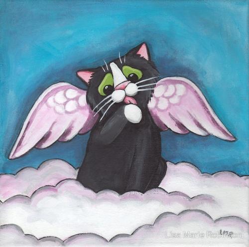 Милые котики от Lisa Marie Robinson (31 работ)