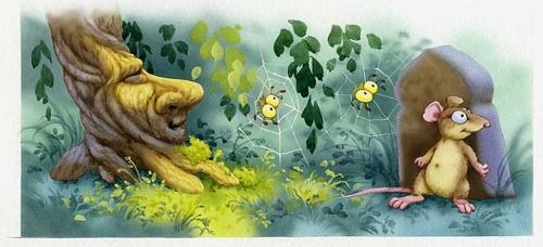 Иллюстрации к сказкам от Елены Алмазовой (15 работ)