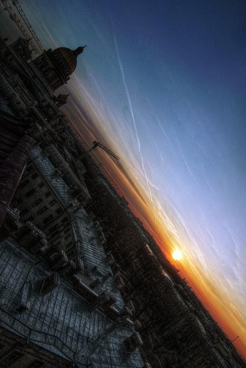 Фото утреннего Санкт-Петербурга (18 фото)