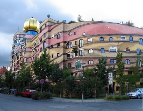Необычная архитектура. Интересные дома (84 фото)