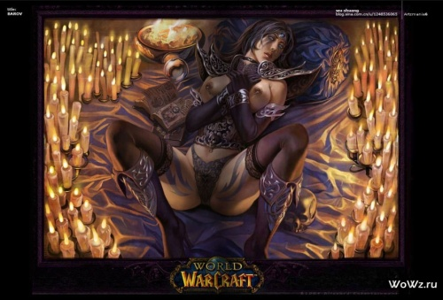 World of Warcraft | Art Collection (774 работ) (2 часть)