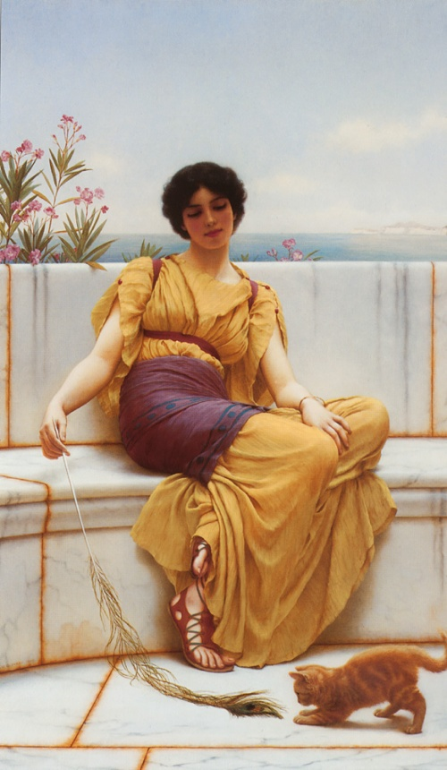 John William Godward (42 работ)