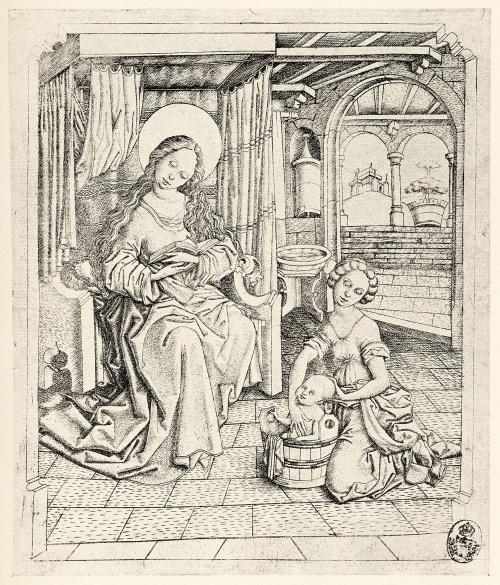 Старинные немецкие гравюры разных мастеров (25 работ)