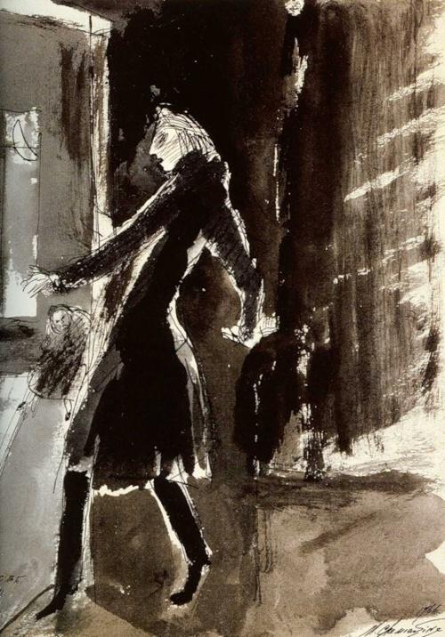 Михаил Шемякин. Часть 1. Иллюстрации (30 работ)