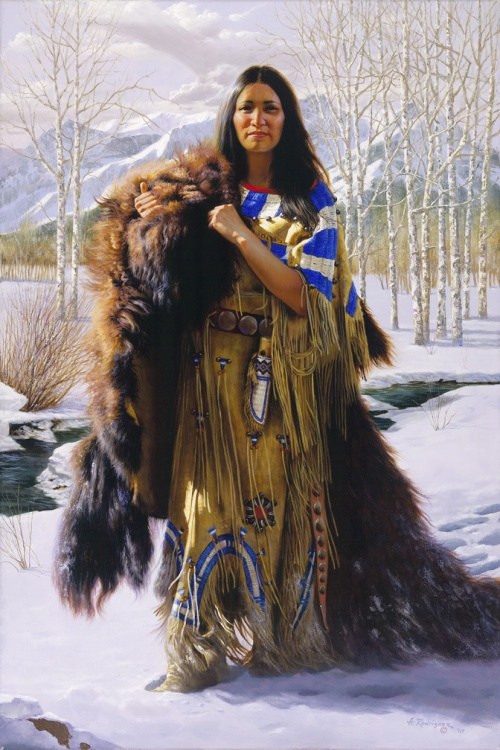 Индейцы племен сиу и навахо (63 работ)