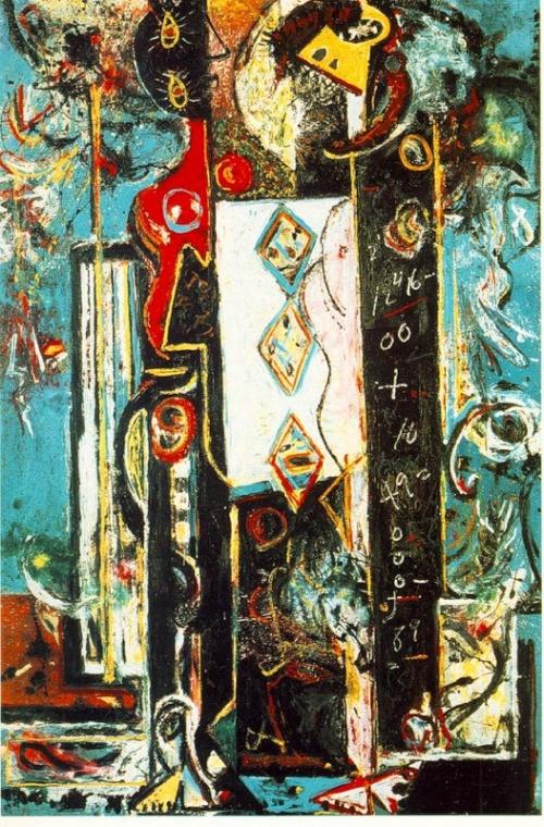 Джексон Поллок (Jackson Pollock) (35 работ)