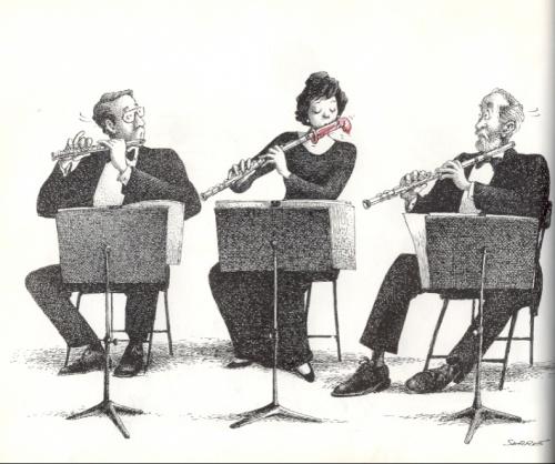 Album Caricature - La Musique (55 работ)