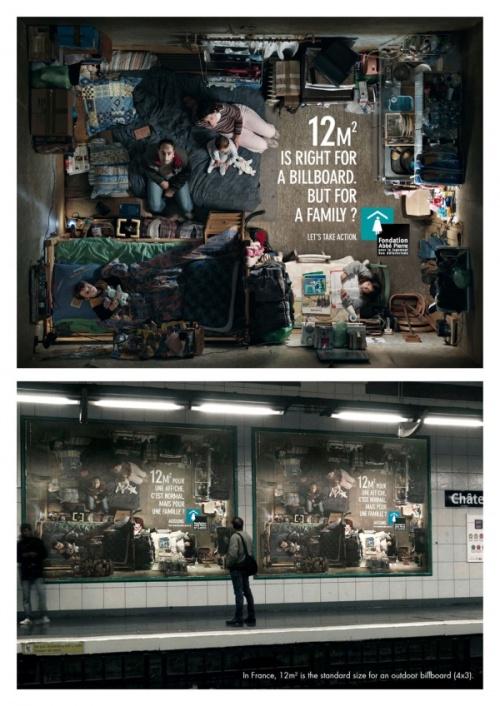 Подборка креативной рекламы (45 фото)