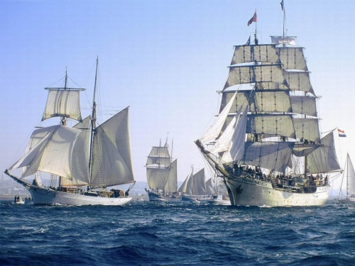 Корабли (25 фото)