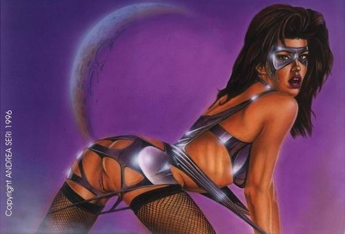 The Pin-up Art of Andrea Seri (26 работ)