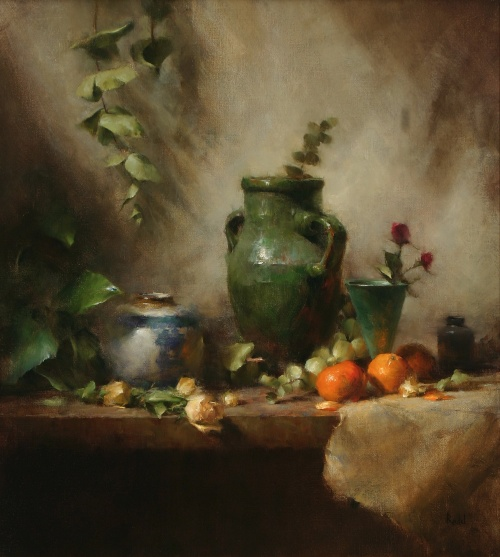 Современная живопись: David Riedel (14 работ)