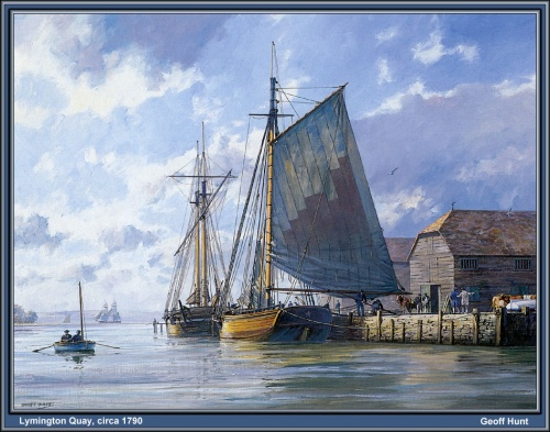 Парусные корабли (небольшая коллекция картин) (96 работ)