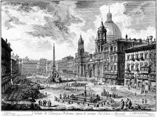 Giovanni Battista Piranesi. Il Campo Marzio dell Antica Roma - Rome, 1762 (13 работ)