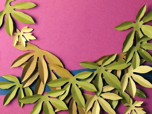 Искусство вырезания из бумаги / Paper work (40 работ)