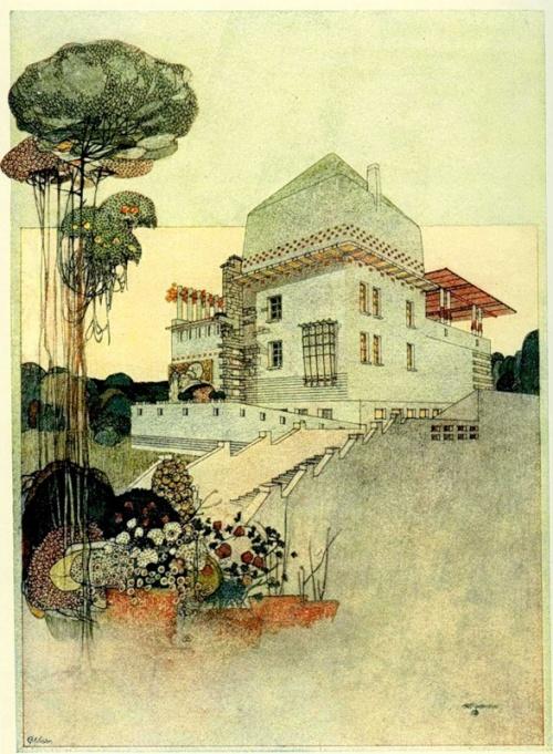 Архитектура Вены в стиле модерн начала 20 века (38 работ)