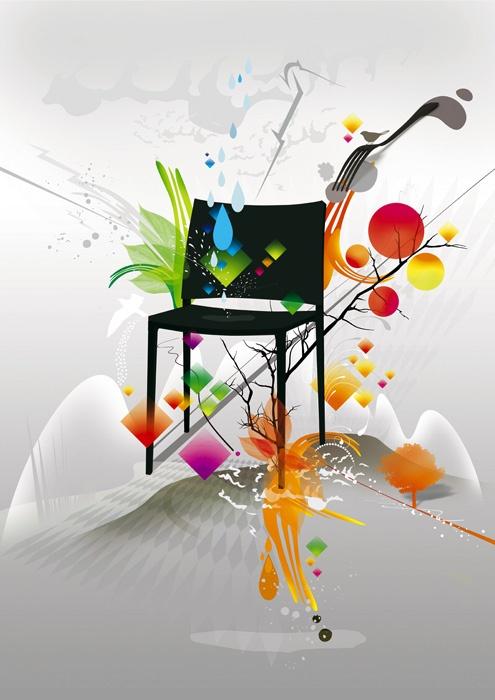 Подрясающие работы графических дизайнеров (68 работ)