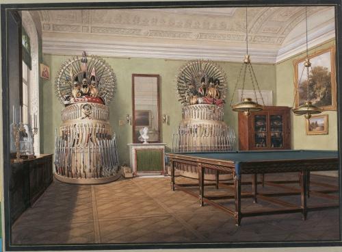 Акварели из коллекции Эрмитажа #1 (12 работ) (2 часть)