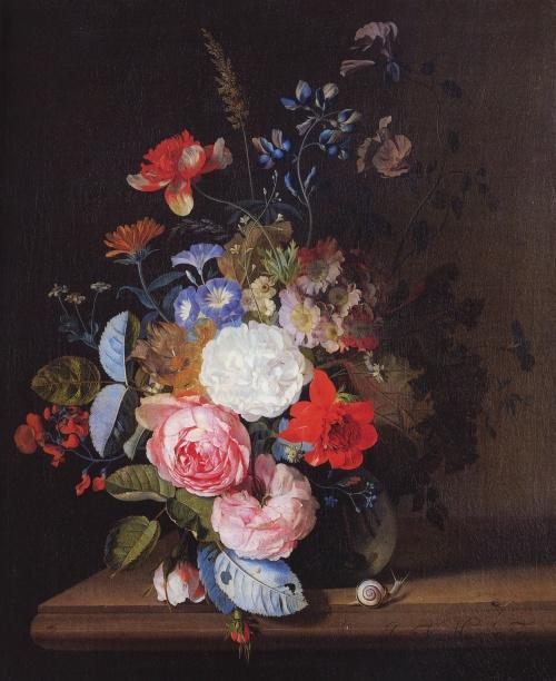 Ян ван Хейсюм - Jan van Huysum (24 работ)