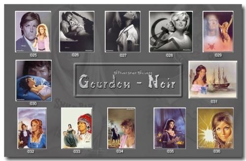 Работы художнгика Gourdon Noir (65 работ)