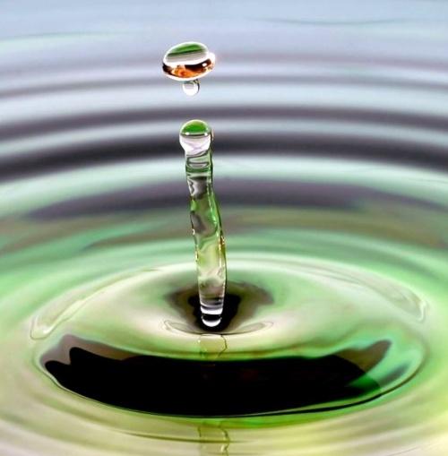 Скульптуры из воды. Фотоподборка (43 фото)