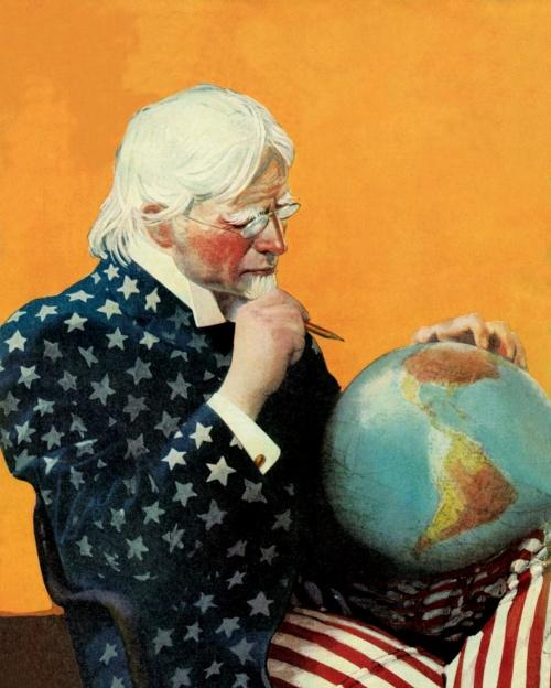 Американские плакаты начала 20 века. Часть 2 (50 фото) (1 часть)